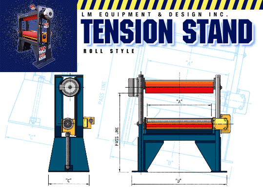 Tension Stand Roll Style